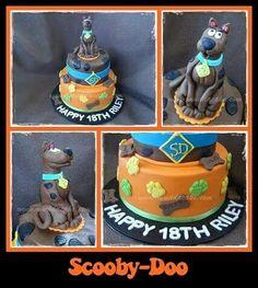 Scooby Doo cake #cake #birthday #muddacake #scoobydoo