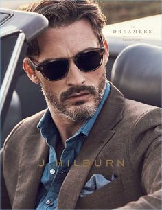 Hilburn embraces the concept of The Dreamers for its summer 2017 catalogue. Reuniting with Ben Hill, J.Hilburn presents a striking blend of warm summer hues… Custom Made Clothing, Love Clothing, Clothing Company, Fashion Magazines Uk, Fashion Sale, Mens Fashion, Ben Hill, Summer Suits, Little Fashion