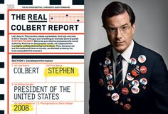 Fred Woodward - GQ, Stephen Colbert