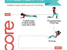 Fitness Friday # 10 http://www.tina4mynt.jeunesseglobal.com/