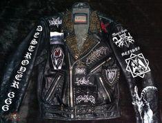Battle Jacket - Leather Battle Jacket Completed.