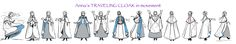 Anna's Traveling Cloak ✤ || CHARACTER DESIGN REFERENCES |