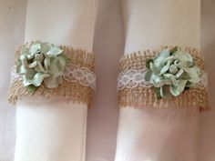 Mint Green Rustic Napkin Holders for Barn by TuttiRoseDesigns, $45.00 Love this, this isn't my image but it's gorgeous.  If you have a second check out my bridal accessories over at http://www.weddingandgems.co.uk.