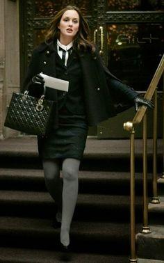 Inspiração de inverno com Blair Waldorf