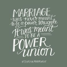 Its a power union. The story of Marriage, John and Lisa Bevere.