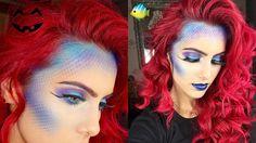 EASY Mermaid halloween tutorial | BODMONZAID