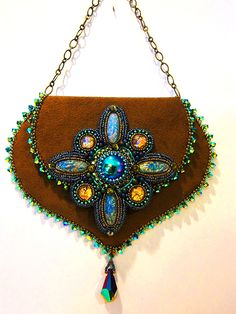 B & B Show: Bead Show Workshops & Classes: Monday June 10, 2013: B131734 Encore with Sherry Serafini: Embroidered and Embellished -- A Coin Purse