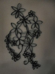 My toilet paper wall art