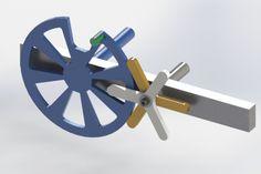 Intermittent Mechanism Pin/Wheel