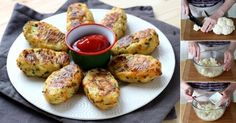Aprenda a fazer passo a passo os deliciosos croquetes de couve-flor com parmesão.