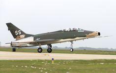 Collings Foundation North American F-100F Super Sabre.