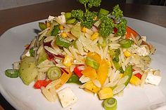 Kritharaki - Salat 1