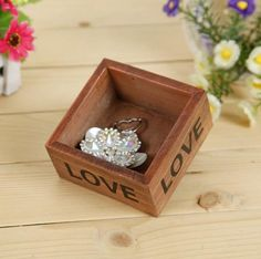 little love zakka wooden jewelry storage box for sale,luxury storage box, View cheap wood jewelry box, Tongshun Product Details from Cao County Tongshun Woodwork Co., Ltd. on Alibaba.com