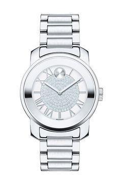 Movado 'Bold' Crystal Dial Bracelet Watch, 32mm available at #Nordstrom