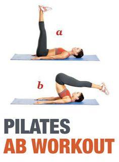 Pilates Ab Workout!