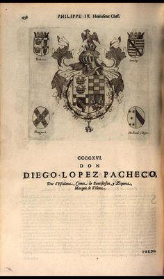 423. 1649; Diego Fernandez Pacheco Portocarrero, 7th Duke of Escalona (1599-1653).