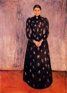 Portrait of Inger Munch - Edvard Munch