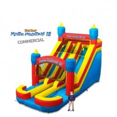 Mystic 18 Inflatable Commercial Slide