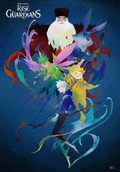 Rise of the guardians Fin by Uwall.deviantart.com on @deviantART