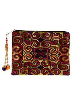 ASOS iPad Case In Aztec With Charm