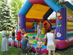Hupfburg Verleih | Osttirol Birthday Candles, Cotton Candy, Kids Makeup, Renting, Sprinkler Party