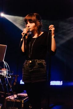 Lauren Mayberry of Chvrches. The Most Fashionable Female Musicians Making Music Right Now. #music #fashion
