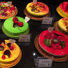Take me back to #strasbourg 😋 #sweets #cake #patisserie #yummy #dessert #colorful #food #shopping