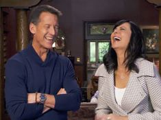 """Get to know """"Good Witch's"""" Catherine Bell and James Denton! The romance and magic of Middleton returns on Sundays only on Hallmark Channel! Shane Harte, Hallmark Good Witch, Brandon Russell, Katherine Bell, The Good Witch Series, James Denton, Tv Show Casting, Witch Dress, Teenage Daughters"""