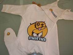 Vestito baby personalizzato