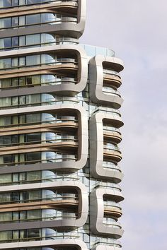 Canaletto Tower by UNStudio in London, United Kingdom
