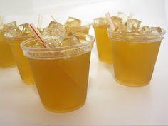 Peach Iced Tea Jello Shots