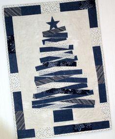 Blue Jean Christmas Tree