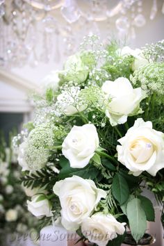 Flower detail at Bertus & Elsabe's wedding ... www.SeeOneSoul.org