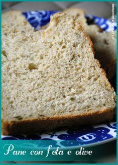 Pane con feta e olive Pane, Feta, Bread, Bakeries, Breads