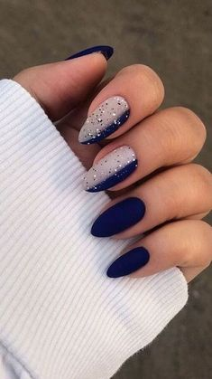 168 classical ideas for french nails – page 4 Summer Acrylic Nails, Best Acrylic Nails, Acrylic Nail Designs, Summer Nails, Chic Nails, Stylish Nails, Swag Nails, Popular Nail Designs, Nail Art Designs Videos