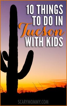 Planning a trip to Tucson, Arizona? Get great tips and ideas for fun things to do with the kids (from a real mom who KNOWS) in Scary Mommy's travel guide!  summer | spring break | family vacation | parenting advice
