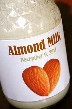 How to make almond milk using a juicer (Hamilton Beach worked). If you need just a bit for a recipe: simply combine Honeyville flour [or coconut flour] with water! Make Almond Milk, Almond Milk Recipes, Homemade Almond Milk, Almond Butter, Grain Free, Dairy Free, Nut Free, Coconut Water Benefits, Against All Grain