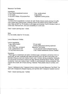 This is another recipe from Mrs. Gale Tyrrell. It's fantastic! Especially a good one for Easter!