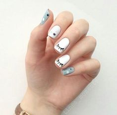 Many women prefer to attend the hairdresser even though they cannot have time to use shine with their nails among … Nail Salon Design, Gel Nail Designs, Stylish Nails, Trendy Nails, Cute Nail Art, Cute Nails, Hair And Nails, My Nails, Nail Effects