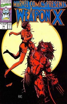 Weapon X :  Marvel Comics Presents 76.