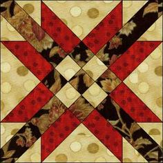 "mexican star quilt block patterns | Ideas for ""Chart Your Course"" 