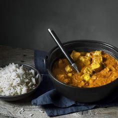 Härlig indisk gryta lagad från grunden med mycket smak av ingefära, garam masala och curry.