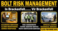 Security in Brackenfell. For Brackenfell New Social Network, Risk Management, Assessment, Periodic Table, Website, Periodic Table Chart, Periotic Table, Business Valuation