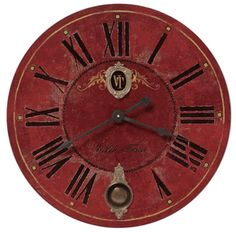 Villa Tesio Wall Clock 31
