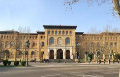 Zaragoza: paraninfo facultad de medicina y ciencias