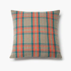 Macalester Plaid Wool Pillow Case