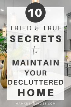 Want to declutter your home but have no idea where to start? Decluttering starts by first understanding that there is a difference between declutterers and *successful* declutters. Successful declutters are dedicated to keeping their homes tidy for the long haul, and many follow 10 vital (but rarely touted) secrets. Inside: 10 tricks to help you successfully tidy your home for good (and keep it that way!). Diy Home Decor Easy, Diy Home Decor Bedroom, Just Do It, That Way, Minimalism Meaning, Sunk Costs, Mindfulness For Kids, Declutter Your Life, Entryway Organization