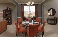 Do You Like This Dining Room With RED, Or Would You Use A Different Color