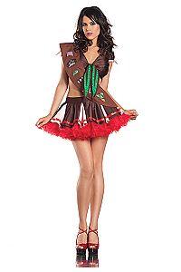 Super Sexy Cookie Girl Scout costume Ladies Pleated Skirt set Tie cleavage top s Wicked Costumes, Sexy Halloween Costumes, Girl Costumes, Halloween Party, Party Costumes, Adult Halloween, Girl Scout Costume, Cookie Costume, Sexy Costumes For Women