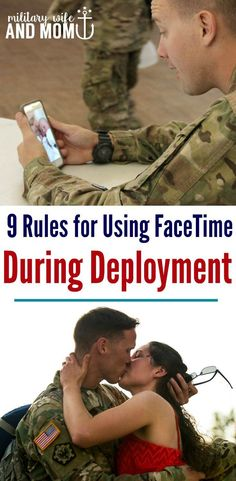Do you know what to expect while on FaceTime during deployment? Use these 11 rules of FaceTime during deployment to know. Perfect for military spouses, military wives, military girlfriends and military significant others. Military Marriage, Military Relationships, Military Deployment, Military Homecoming, Military Couples, Military Quotes, Military Love, Military Wedding, Military Ball